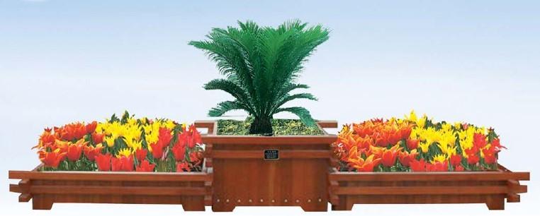 CS6-01木制组合花盆