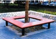 CS5-02方型围树凳